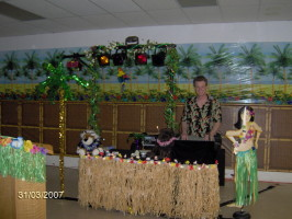 luau parties, boogie down events